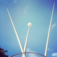 Photo taken at Plaza Alfredo Sadel by Gigi on 11/29/2012