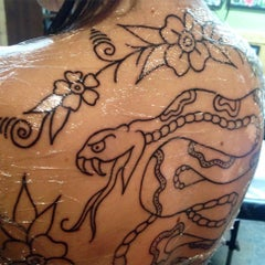 Photo taken at Northern Liberty Tattoo by Kyle F. on 7/6/2015