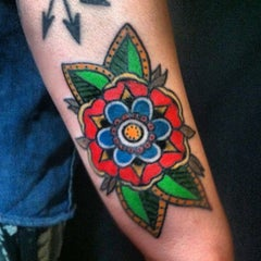 Photo taken at Northern Liberties Tattoo by Kyle F. on 5/12/2014