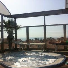 Photo taken at Hotel Torino Diano Marina by Barzi on 6/8/2014