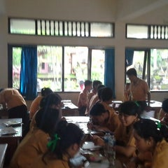 Photo taken at SMKN 4 Denpasar by Rizkey Z. on 1/4/2014