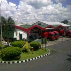 Photo taken at Pertamina Terminal BBM Malang by Efratasaesar R. on 4/2/2013