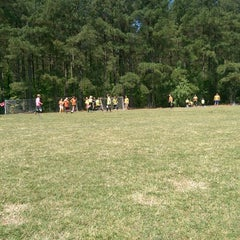 Photo taken at YAKS Soccer Complex by Ronnie T. on 5/9/2015
