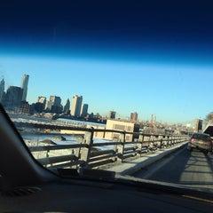 Photo taken at Hamilton Avenue Bridge by Sergey S. on 1/29/2014