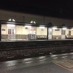 Photo taken at Gare SNCF de La Roche-sur-Yon by Germain D. on 1/29/2015