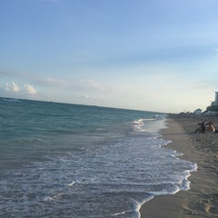 Photo taken at Miami Beach At 4525 Collins by Nurcan E. on 11/8/2014