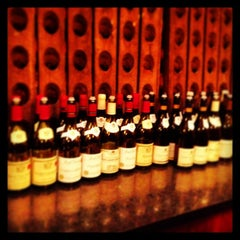 """Photo taken at Chelsea Wine Vault by Cathrine """"Dame Wine"""" T. on 10/11/2013"""