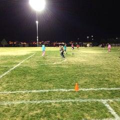 Photo taken at Desert Breeze Soccer Complex by PlatinumKustomz J. on 11/5/2013