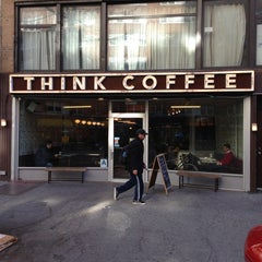 Photo taken at Think Coffee by Frank R. on 4/22/2013