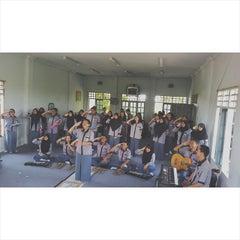 Photo taken at SMA Negeri 17 Makassar by Muhammad A. on 3/27/2015