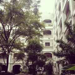 Photo taken at University of Perpetual Help by May U. on 9/5/2013
