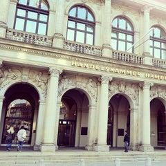 Photo taken at Handelskammer Hamburg by Valentin N. on 8/10/2012