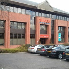 Photo taken at Tesco Head Office by Lyon C. on 2/22/2012