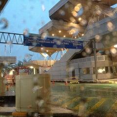 Photo taken at Sultan Iskandar CIQ Complex (Johor Bahru Checkpoint) by Azhar R. on 7/7/2012