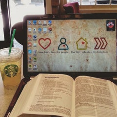 Photo taken at Starbucks by Amy B. on 5/25/2015