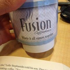 Photo taken at Fusion Coffeehouse by Nina W. on 12/30/2013