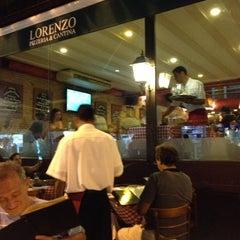 Photo taken at Lorenzo Pizzeria & Cantina by ☀️🍻🏊 Fernando Z. on 12/13/2012