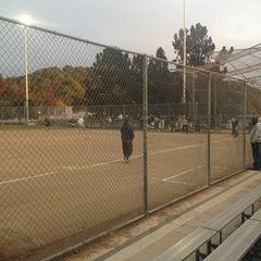 Photo taken at Owen Jones Memorial Field by Tom D. on 9/13/2013