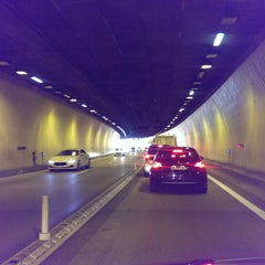 Photo taken at Tunnel de Monaco by Christoph L. on 7/24/2014