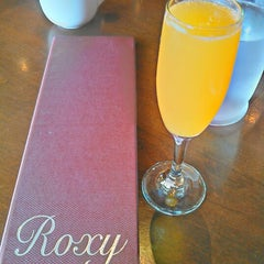 Photo taken at Roxy Restaurant and Bar by Gaby F. on 11/18/2012