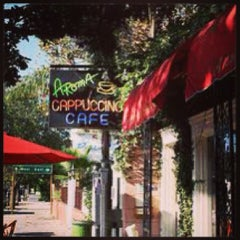 Photo taken at Aroma Coffee and Tea Co. by Amy S. on 2/21/2013