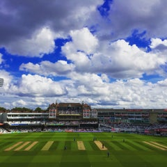 Photo taken at The Kia Oval by Fred K. on 8/28/2015