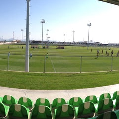 Photo taken at Territorio Santos Modelo Estadio by Gustavo D. on 11/21/2015