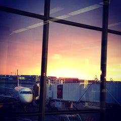 Photo taken at Minneapolis-St. Paul International Airport (MSP) by Allison H. on 11/8/2013