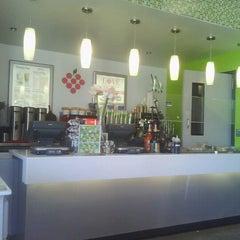 Photo taken at LOVE Frozen Yogurt Bar by E- C. on 10/14/2012