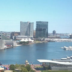 Photo taken at Sheraton Inner Harbor Hotel by Carol Ann S. on 7/29/2013