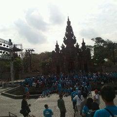 Photo taken at Taman Werdhi Budaya Art Center by Imam T. on 9/14/2012