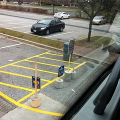 Photo taken at Megabus Bus Stop - South Side White Marsh Mall by Cyn v. on 11/21/2013