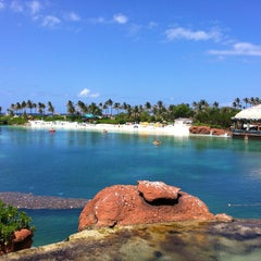 Photo taken at Atlantis Paradise Island Casino & Resort by MBinCB on 4/29/2013