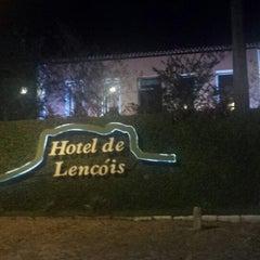 Photo taken at Hotel de Lençóis by Ju H. on 1/25/2014