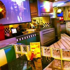 Photo taken at Yesterday American Diner by Cristina G. on 1/4/2013