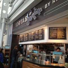 Photo taken at Tortas Frontera by Rick Bayless by Marnely R. on 4/2/2013