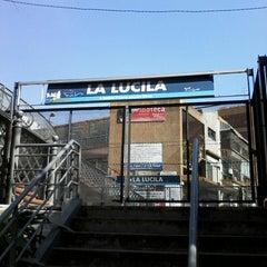 Photo taken at Estación La Lucila [Línea Mitre] by Vicky T. on 8/30/2013