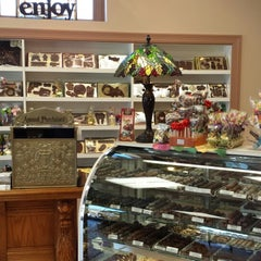 Photo taken at Golden Turtle Chocolate Factory by Gregg P. on 4/10/2014