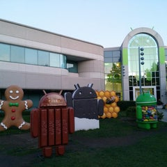 Photo taken at Googleplex - 44 by Ekin O. on 9/4/2013