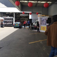 Photo taken at Motorysa Mitsubishi Colombia by Fernando M. on 10/21/2014