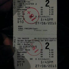Photo taken at Golden Screen Cinemas (GSC) by Amaniena A. on 8/27/2015