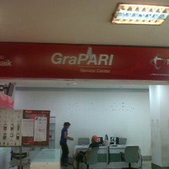 Photo taken at GeraiHALO Telkomsel by grace a. on 3/30/2013
