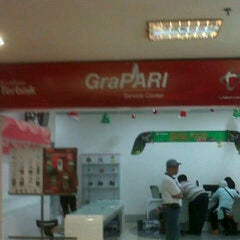Photo taken at GeraiHALO Telkomsel by grace a. on 12/29/2012