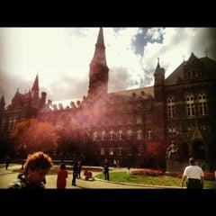 Photo taken at Georgetown University by Lianne E. on 10/20/2012