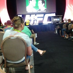 Photo taken at UFC Fan Expo by Brian L. on 7/6/2014