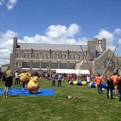 Photo taken at Holtzman Alumni Center by Anna S. on 5/10/2012
