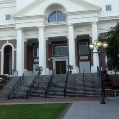 Photo taken at First Baptist Church by Aja S. on 10/19/2012
