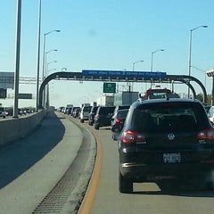 Photo taken at Toll Plaza 17 by Eric L. on 10/12/2012