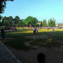 Photo taken at Taman Kota Singaraja by Tut D. on 5/23/2015