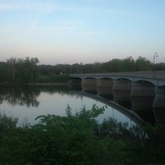 Photo taken at Conant Street Bridge by Jordan S. on 5/14/2013